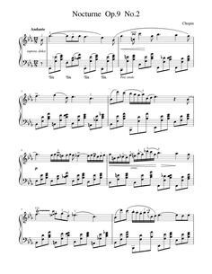 Piano Sheet Music Classical, Piano Music, Nocturne, Free Sheet Music, Music Sheets, E Flat Major, Music Words, Wallpaper Free Download, Music Love