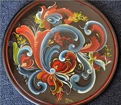 Traditional Norwegian Painting – Rosemaling Rules and Telemark Technique