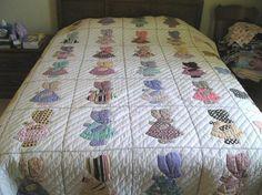 Sun bonnet sue quilt patterns free | Thread: Look Mom, No Hands! Sunbonnet Sue Estate Sale Find