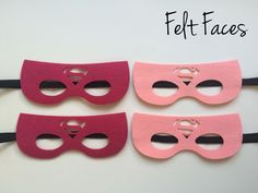Supergirl Party Masks, Superwoman Themed Party Ideas, Super-girls Party