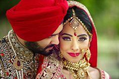 Her eyes are delicious! Photo by Balkar Photography, Bathinda Sikh Wedding, Punjabi Wedding, Wedding Couples, Gujarati Wedding, Wedding Sutra, Wedding Reception, Punjabi Bride, Punjabi Couple, Asian Bridal