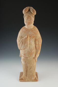 Ancient China Tang Dynasty Fat Lady 中国唐代丰腴仕女俑