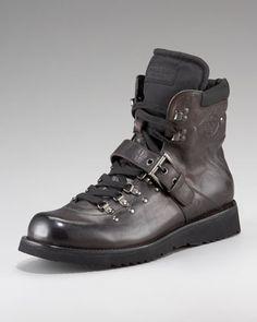 Prada Hiker Boot - Neiman Marcus