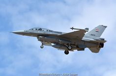 https://flic.kr/p/KBmrSH | Lockheed Martin F-16D / 1603 | An Iraq Air Force F-16D training with the 162nd Fighter Wing on approach to Tucson International Airport.