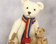 NHS Charity Knitting Pattern Bear Medic Doctor Nurse | Etsy Small Teddy Bears, Teddy Bear Toys, Knitting For Charity, Double Knitting, Teddy Bear Knitting Pattern, Knitting Patterns, Knitting Yarn, Baby Knitting, Simple Embroidery