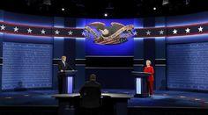 «Σκληρό ροκ» στο πρώτο debate Κλίντον – Τραμπ