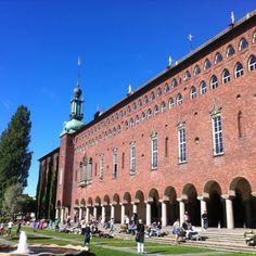 City Hall Stockholm Sweden