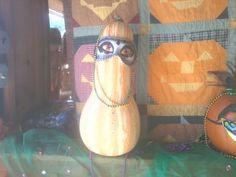 Mardi Gras Gourd