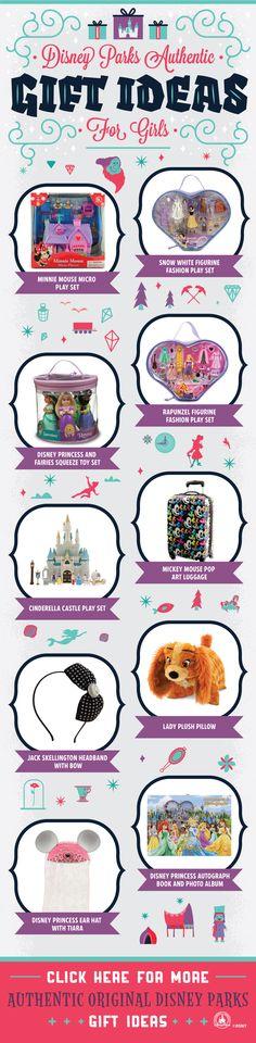 Disney Parks Gift Ideas for Girls!