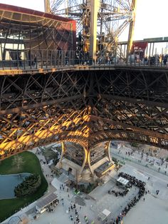 ITAP of the inside of the Eiffel Tower Tour Eiffel, Landscape Photography, Travel Photography, France Eiffel Tower, Gustave Eiffel, Paris Love, Steel Structure, France Travel, City Lights