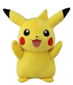 So the only Pokemon my little bro likes (btw he is 2) is Pikachu, the most expensive plush ever!!!!