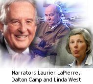 Narrators Laurier LaPierre, Dalton Camp and Linda West National History, Canadian History, Linda West, Ontario Curriculum, Political Events, Social Studies, Politics, Canada, Study