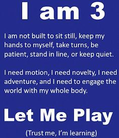 """""""I am Let Me Play""""--- Play is so important to development and learning. This makes me think of the best teacher I know! My mom! Sight Words, Babywearing, Reggio Emilia, Child Development, My Children, Parenting Hacks, Gentle Parenting, Parenting Issues, Parenting Articles"""