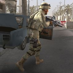 soldier military 3d model
