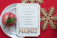 Holiday Tablescape Designs featuring classic holiday colors. #ChristmasDecor