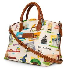 Retro Disney World Dooney & Bourke Satchel