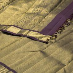 Kanakavalli Handwoven Kanjivaram Silk Sari 1006467 - Sari / Kanjivarams - Parisera