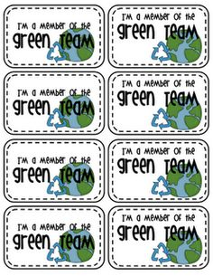 earth day badges