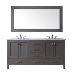 Malibu 60-inch Double Sink Bathroom Vanity - Still Waters Bath - 12