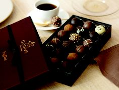 #GODIVA Truffles & good conversation - both worth savoring