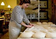 By the time Vergennes Laundry's bread starts coming out of the oven at around 4:30 in the afternoon, there is often a list of customers who have laid claim to one of the big, chewy-crusted loaves of pain au levain.