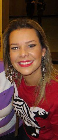 Fernanda Souza, com Máxi Brinco.      #fernandasouza #thevoicebrasil #elasusam #elasamam #priacessorios #prischiavinato #prinamidia #brinco #bijuteria      www.priacessorios.com.br
