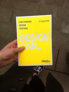Cheltenham design festival today