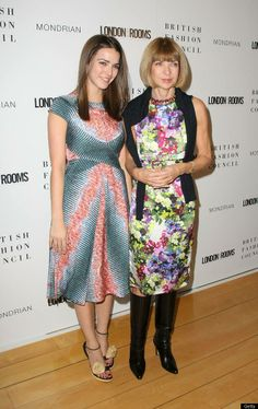 Anna Wintour with her daughter Bee Shaffer