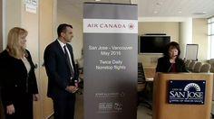 AIR CANADA STARTS BOOKING FLIGHTS AT SAN JOSE'S AIRPORT Vancouver, San Jose International Airport, San Jose Airport, Canada, Best Places To Live, News, Travel, Viajes, Destinations