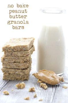 Low Carb Keto Peanut Butter Granola Bars