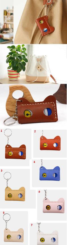 Cat Head Genuine Leather ID Card Badge Holder Incredible Gifts, Badge Holders, Christmas Gifts, The Incredibles, Cats, Leather, Xmas Gifts, Christmas Presents, Gatos