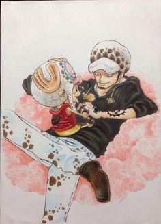 ローさんチョッパーを飼いならす/art by「こむぎ」