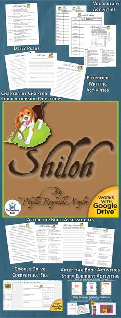 86 Best Shiloh Book Activities Images In 2018 Shiloh Book