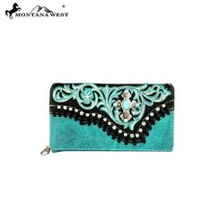 Montana West Spiritual Collection Secretary Style Wallet – Handbag-Addict.com
