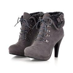 Details about Chic Womens Platform High Heel Stilettos Lace Up Turndown Buckle Ankle Boots 016 Schicke Damen Plateau Stöckelschuhe mit. High Heels Stilettos, High Heel Boots, Platform High Heels, Heeled Boots, Stiletto Heels, Bootie Boots, Boot Heels, Lace Heels, Platform Ankle Boots
