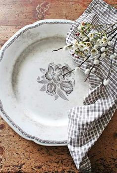 Vintage table scape