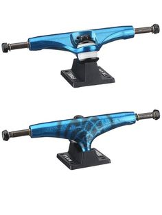 Thunder Skateboard Trucks Aftershock 5.25 147 Candy Blue Black | snapchat @ http://ift.tt/2izonFx