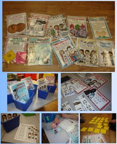 10 math centers that focus on using math strategies to solve equations.