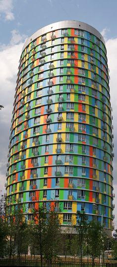 "Apartment block ""Avangard"" (2006), Moscow. Architectural Studio: Sergey Kisselev & Partners"