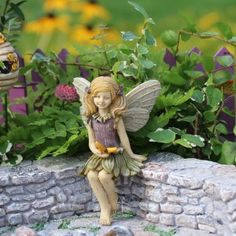 Fairy Garden Miniature Fairy Harper. SHOP now... $8.99