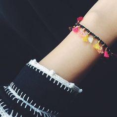 """307 Likes, 16 Comments - S H A S H I (@shashinyc) on Instagram: """"#fall #shashi #jewelry #chic #jamiebracelet #shopshashi #fashion #style #love #tassels"""""""