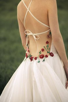 escote espalda vestido novia