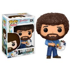 Bob Ross Pop! Vinyl Figure - Funko - Television - Pop! Vinyl Figures at Entertainment Earth