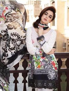 Lawn Salwar Suit Full Wholesale Catalogue Top : Pure Cotton with Heavy Embroidery Maria B Lawn, Latest Salwar Suits, Designer Salwar Suits, Pakistani Suits, Designer Collection, Blouse, Cotton, Shopping, Tops