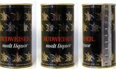 Old Budweiser Cans