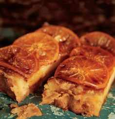 Caramelised ClemenGold tart with cardamom #clemengold #gathering #lecreuset