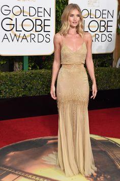 runwayandbeauty: 2016 Golden Globe Awards held at the Beverly...