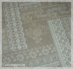Stitches by Carin: Romantique Sampler finished and a beautiful present