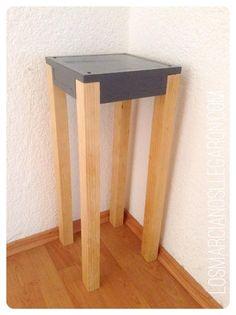 Realiza una linda mesa de madera sencilla y fácil armar | Hacer bricolaje es facilisimo.com