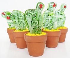 como hacer cactus en vitrofusion - Buscar con Google